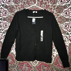 GAP BLACK CARDIGAN NWT